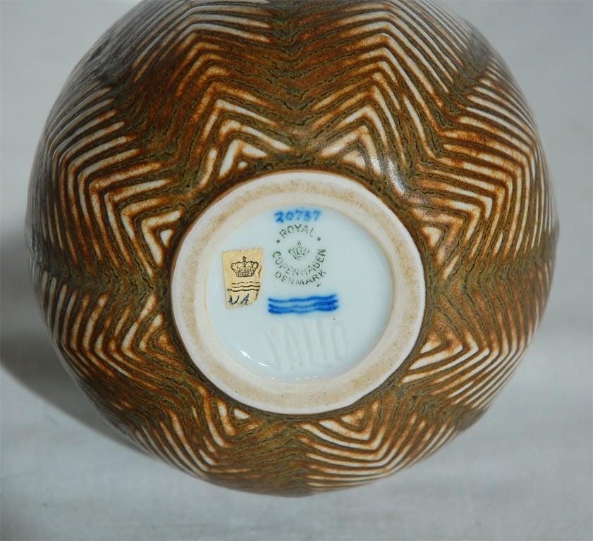 Ceramic Axel Salto Vase made by Royal Copenhagen For Sale