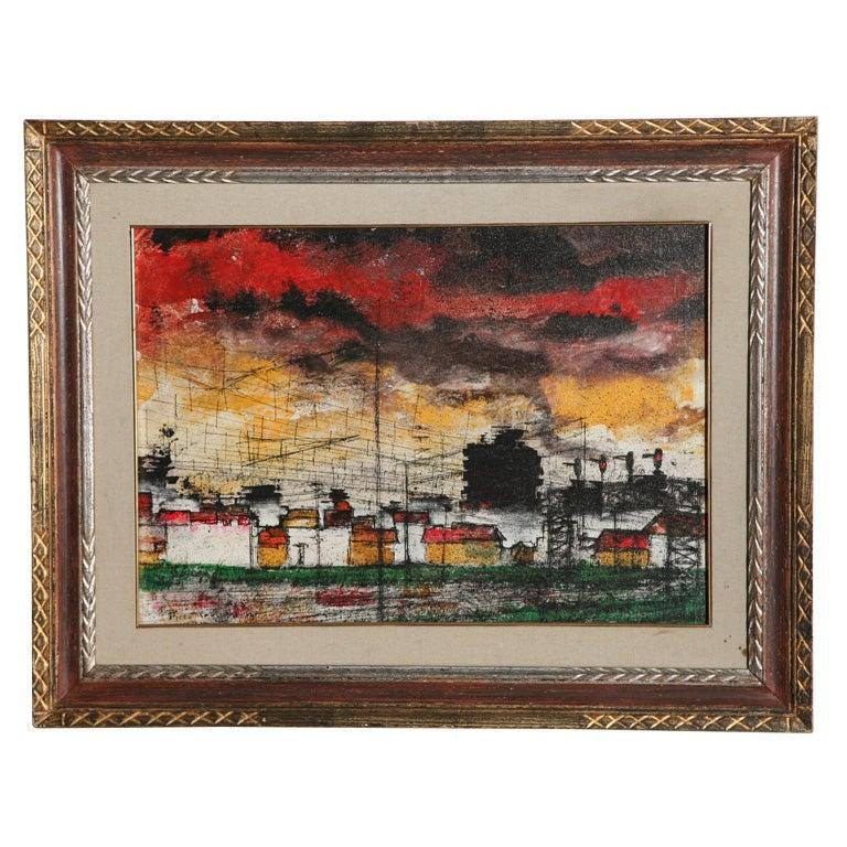 Original oil painting by Piero Cruciani
