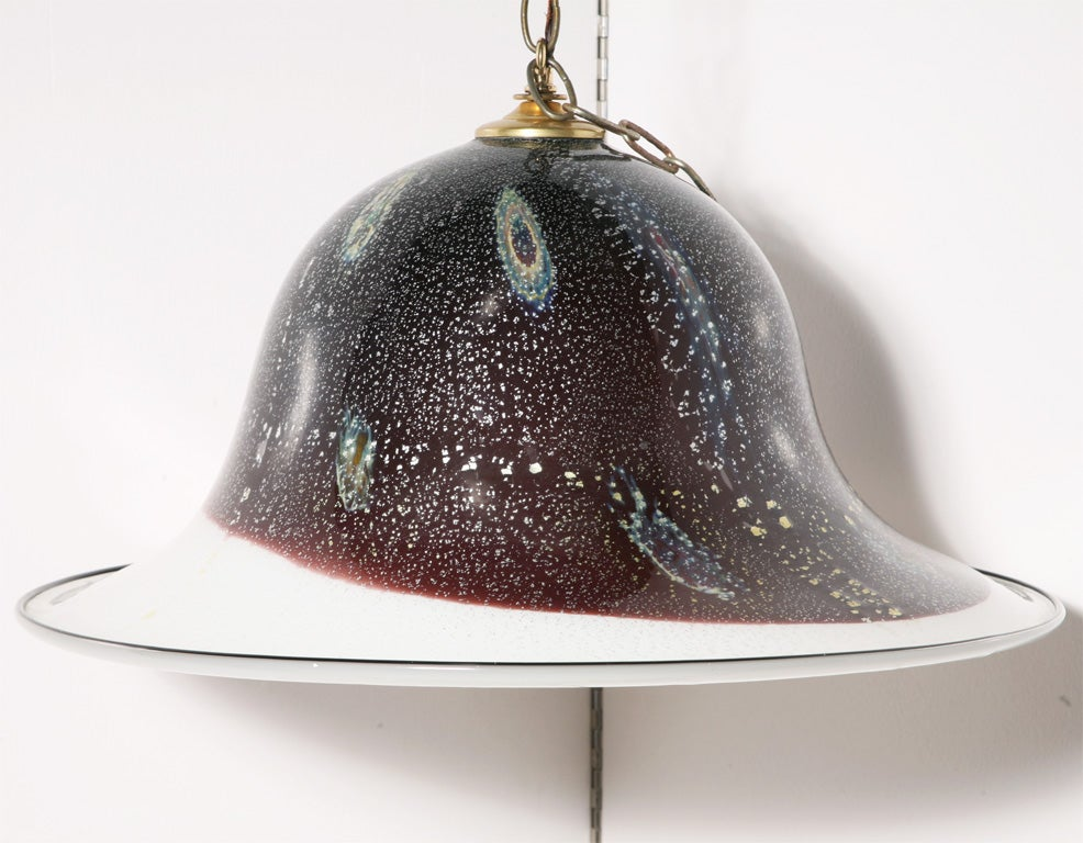 Murano Glass Pendant Chandelier For Sale At 1stdibs