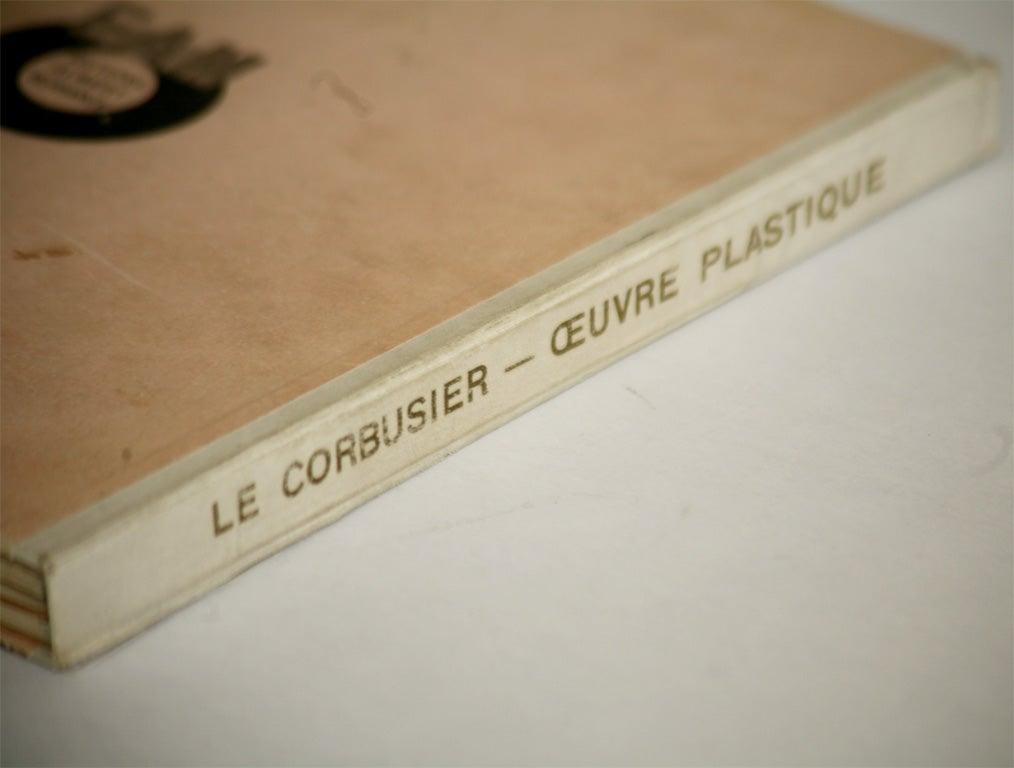 Paper Le Corbusier Book For Sale