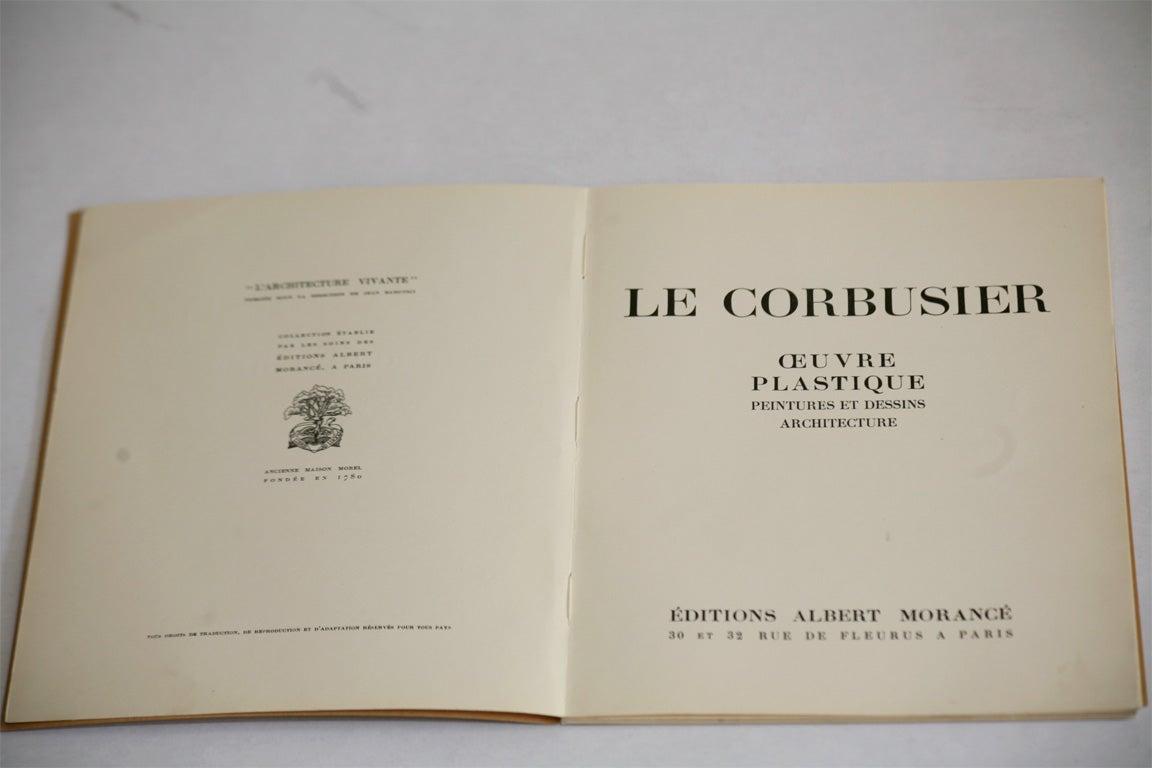 Le Corbusier Book For Sale 3