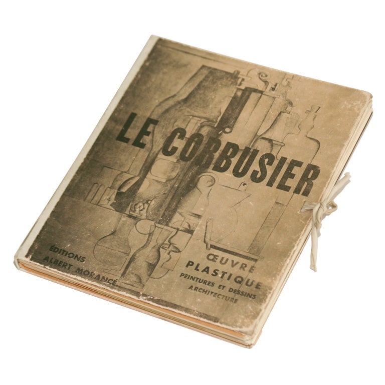 Illustrated Book Cover Generator ~ Le corbusier book at stdibs