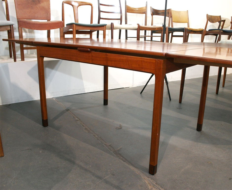 Rectangular Mahogany Extension Dining Table by Willy Beck  : MG7824 from www.1stdibs.com size 939 x 768 jpeg 103kB