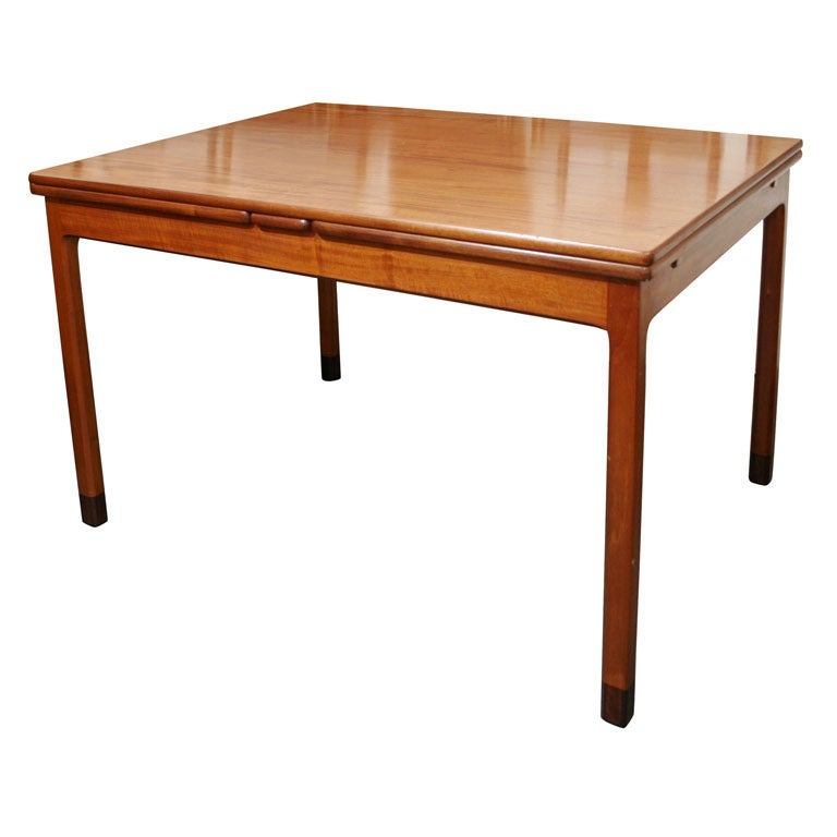 Rectangular Mahogany Extension Dining Table by Willy Beck  : xMG7805 from www.1stdibs.com size 768 x 768 jpeg 33kB