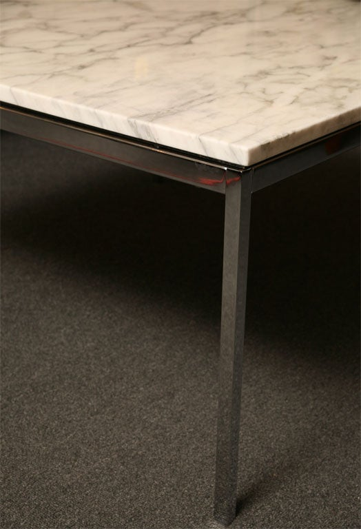 Florence knoll marble coffee table at 1stdibs Florence knoll coffee table