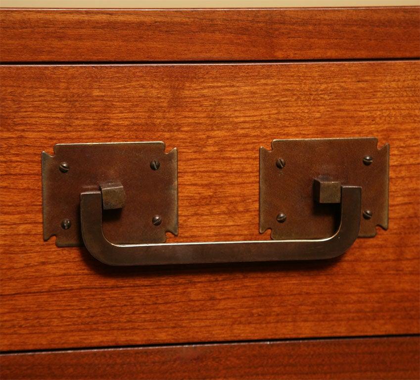 Fine Bert England Walnut Sideboard for Johnson Furniture For Sale 1