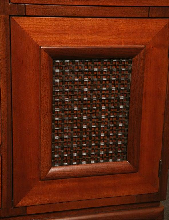Fine Bert England Walnut Sideboard for Johnson Furniture For Sale 3