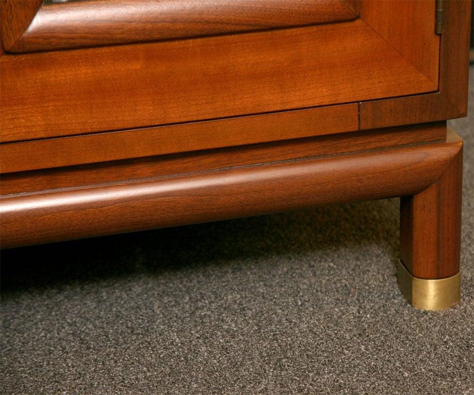Fine Bert England Walnut Sideboard for Johnson Furniture For Sale 4