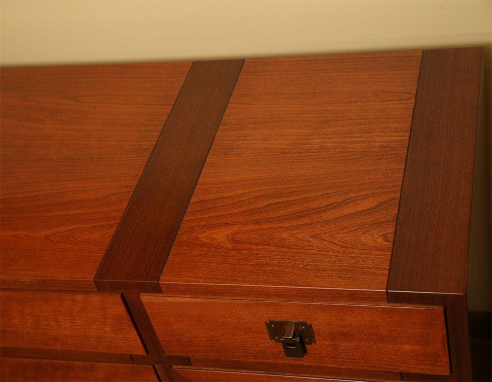 Fine Bert England Walnut Sideboard for Johnson Furniture For Sale 5