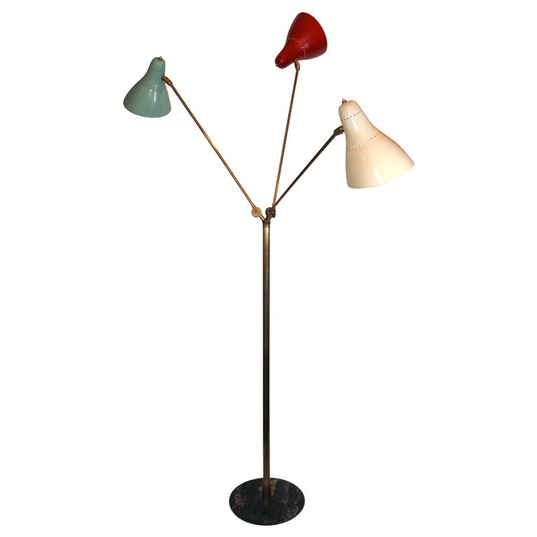An Articulated Floor Lamp at 1stdibs