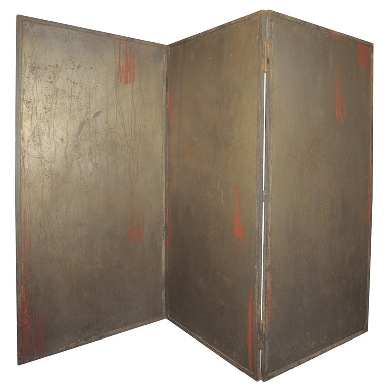 French Welding Screen At 1stdibs