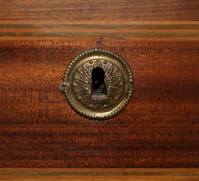 Walnut Louis XV Commode Secretaire 9