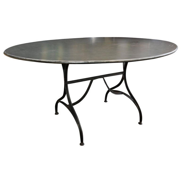 French Oval Metal Table at 1stdibs : xDSC0037 from 1stdibs.com size 768 x 768 jpeg 26kB
