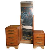 Art Deco Vanity with Fulll length Mirror