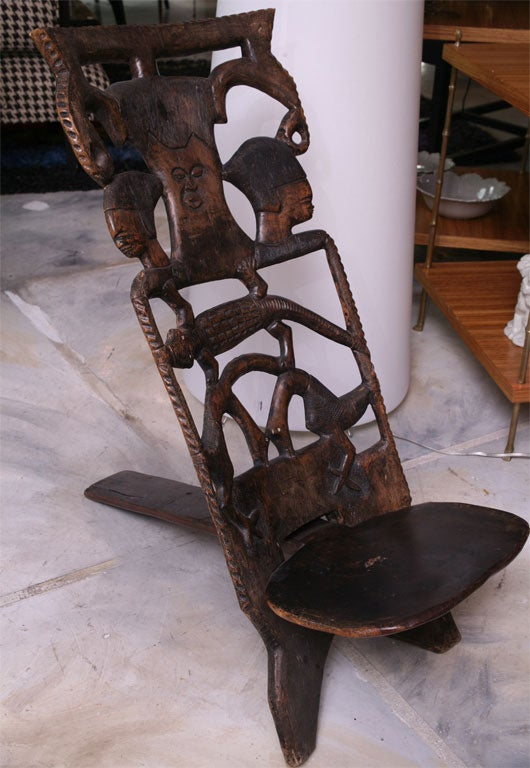 African Birthing Chair At 1stdibs