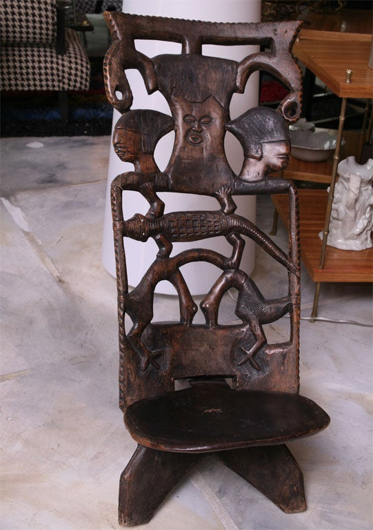 African Birthing Chair 4