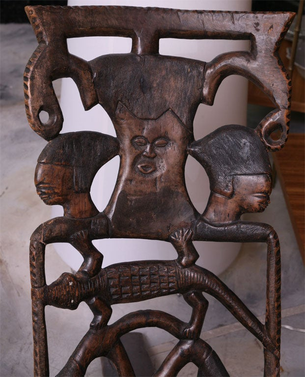 African Birthing Chair 5
