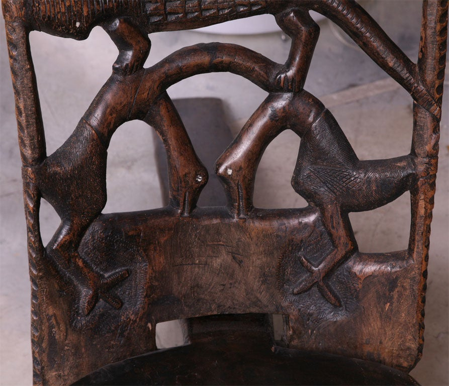 African Birthing Chair 7