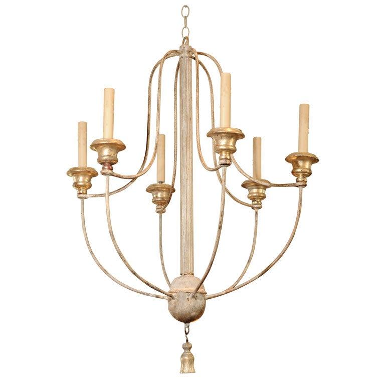 Decorative Italian chandelier at 1stdibs
