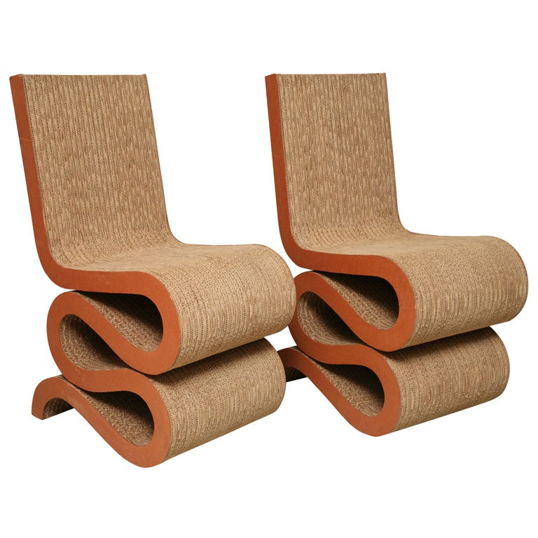 Frank Gehry Wiggle Chairs At 1stdibs