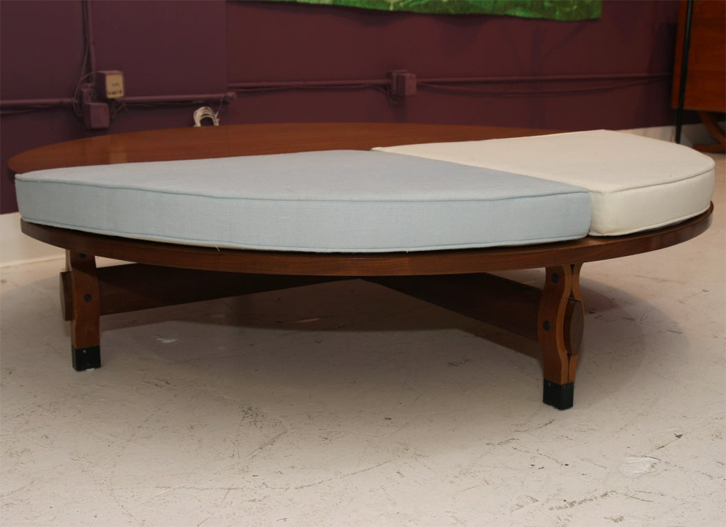 Coffee Table With Seating By Ico Parisi At 1stdibs