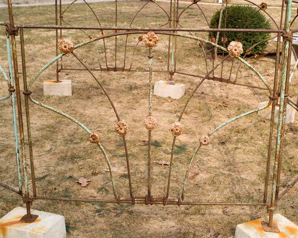 Octagonal Wrought Iron Gazebo image 4