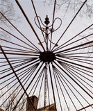 Octagonal Wrought Iron Gazebo thumbnail 6