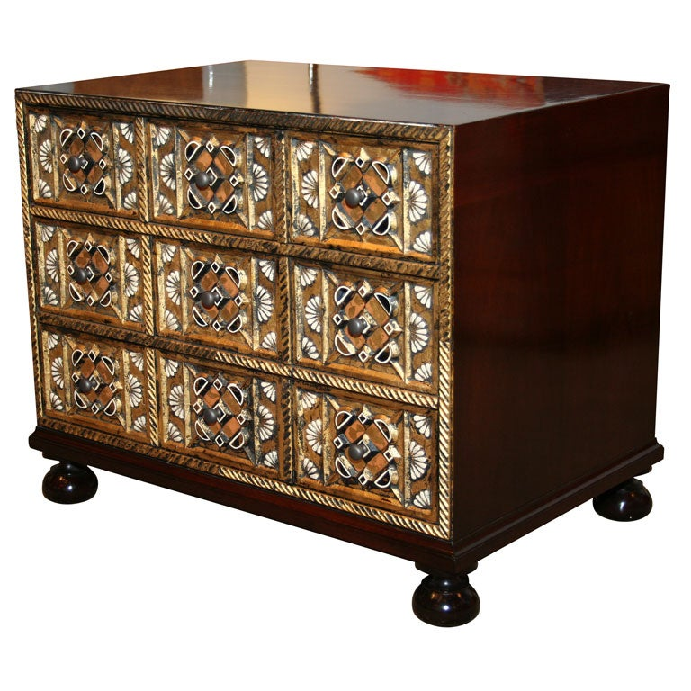 Treasure Chest Commode By John Widdicomb At 1stdibs