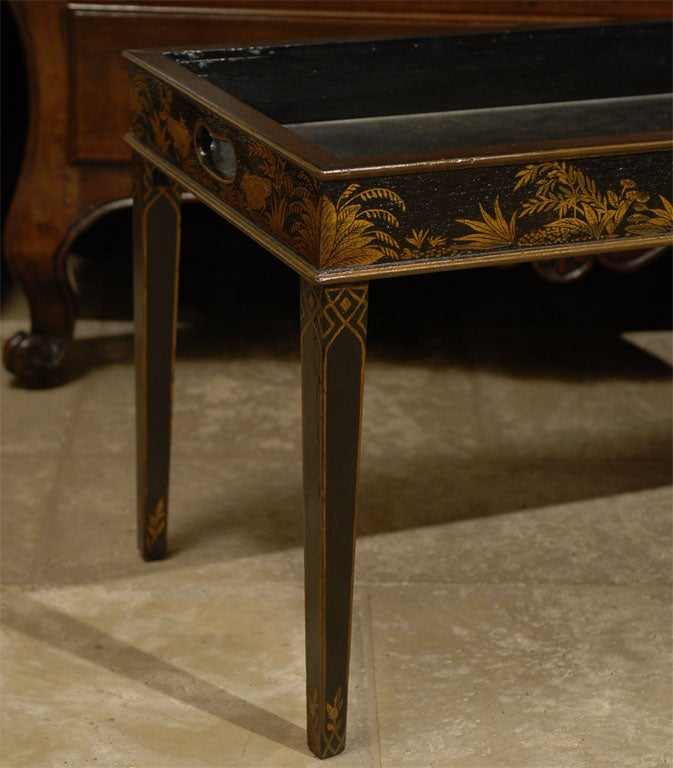 19thc Chinoiserie Stand As Coffee Table At 1stdibs