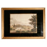 A Collection of Nine 19th Century Prints of Mediterranean Views