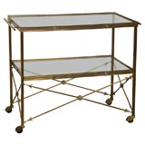Empire Style 2-Tiered Serving Cart