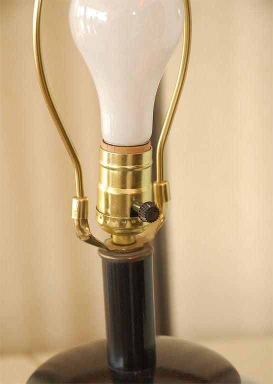 Light Blue Ginger Jar Lamp At 1stdibs