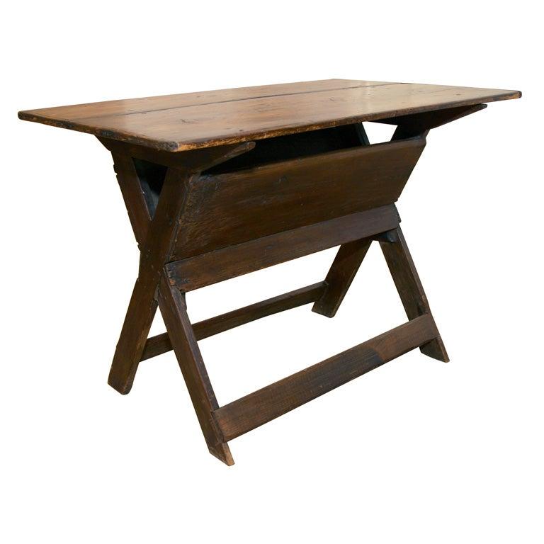 19th Century English Work Table At 1stdibs