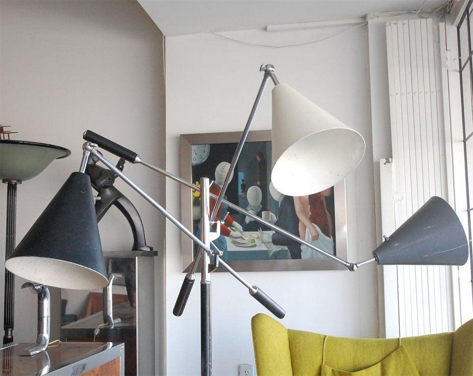 Italian Arteluce  triennale floor lamp by Gino Sarfatti