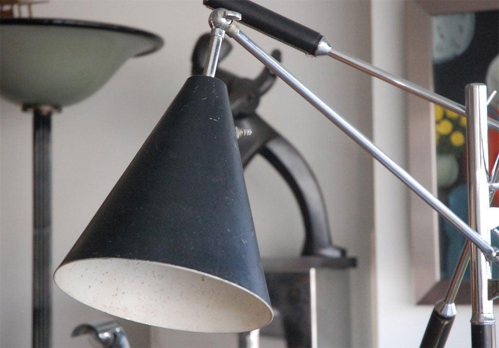 Mid-20th Century Arteluce  triennale floor lamp by Gino Sarfatti