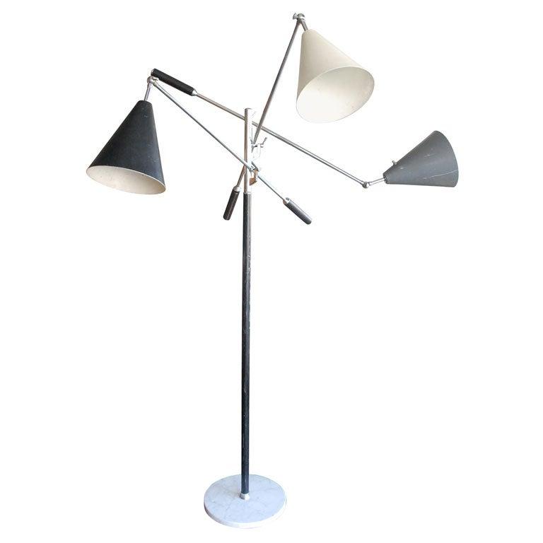 Arteluce  triennale floor lamp by Gino Sarfatti