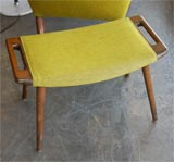 Hans Wegner papa  bear chair and ottoman thumbnail 8