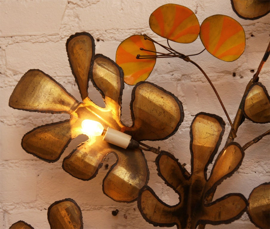 Decorative Wall Sconce by Curtis Jere 4