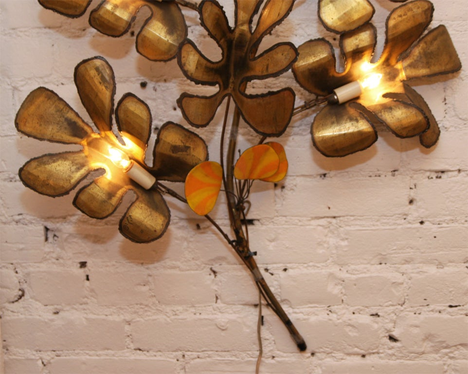 Decorative Wall Sconce by Curtis Jere 5