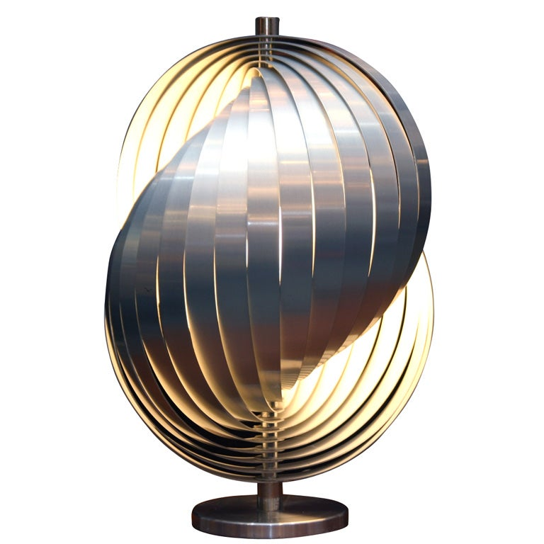 verner panton moon table lamp at 1stdibs. Black Bedroom Furniture Sets. Home Design Ideas