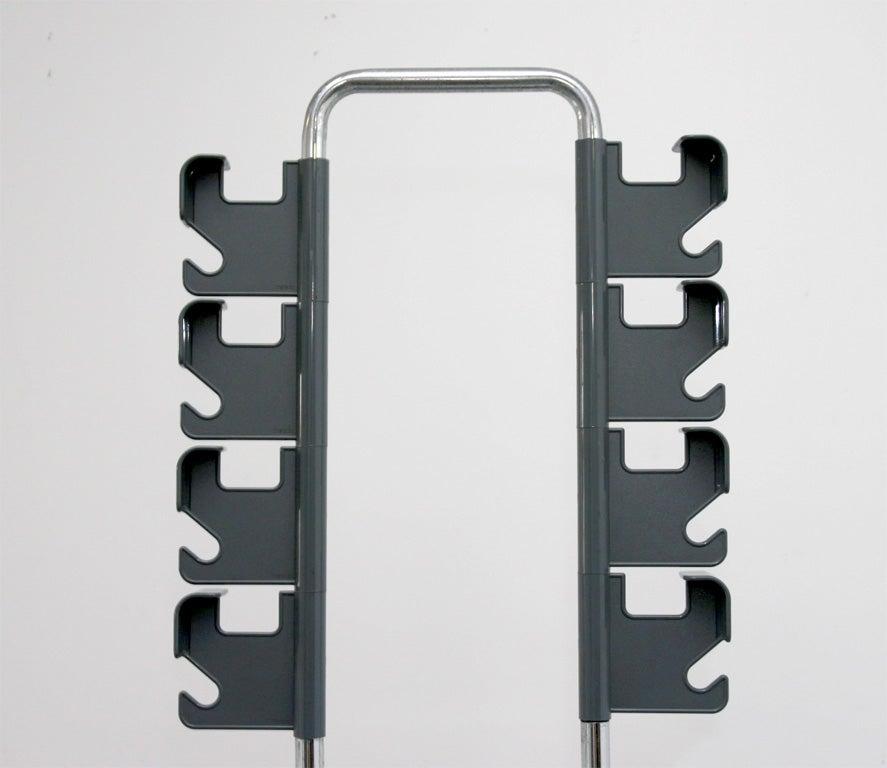 Metal Coat Rack by Vitrac For Sale
