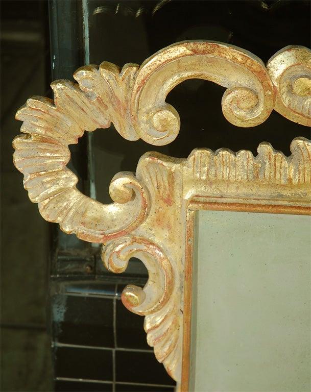 Italian Giltwood Carved Headboard C. 1930's 3