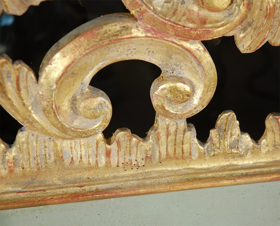 Italian Giltwood Carved Headboard C. 1930's 4