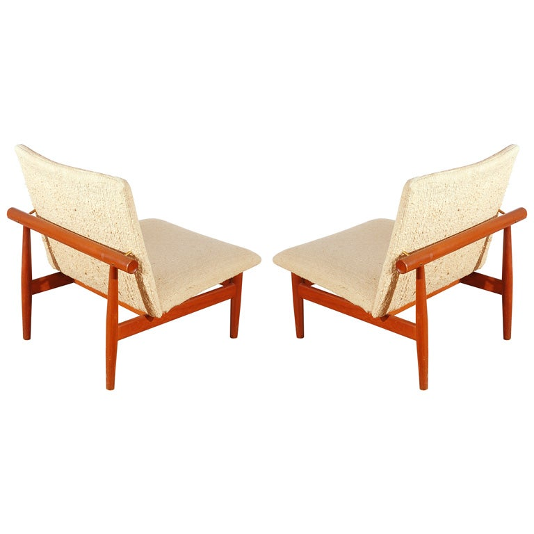 Pair Of Japan Chairs By Finn Juhl At 1stdibs