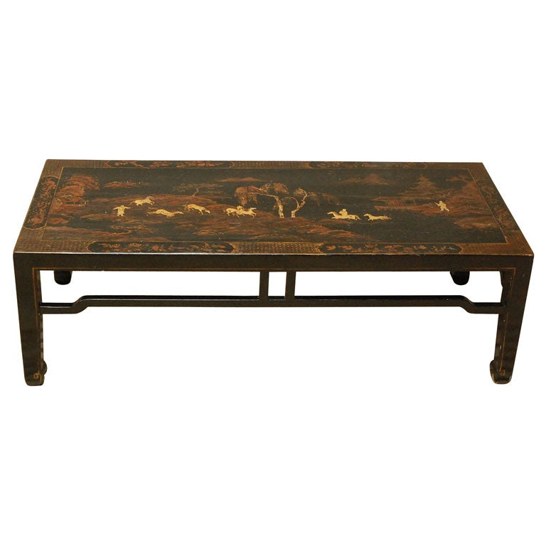 Chinoiserie Anglo American Coffee Table At 1stdibs