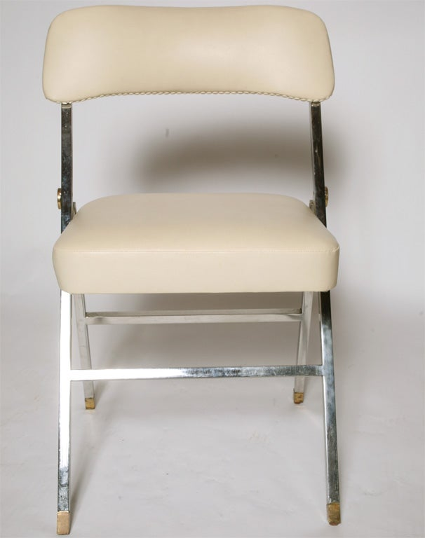 set of 6  Folding Chairs