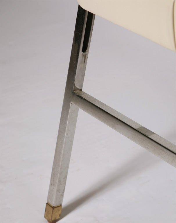 Karl Springer  Folding Chairs For Sale 4