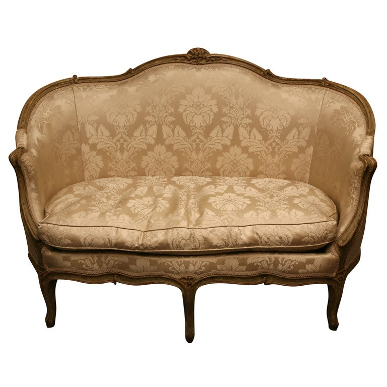 Louis xv style canape at 1stdibs for Canape louis 15