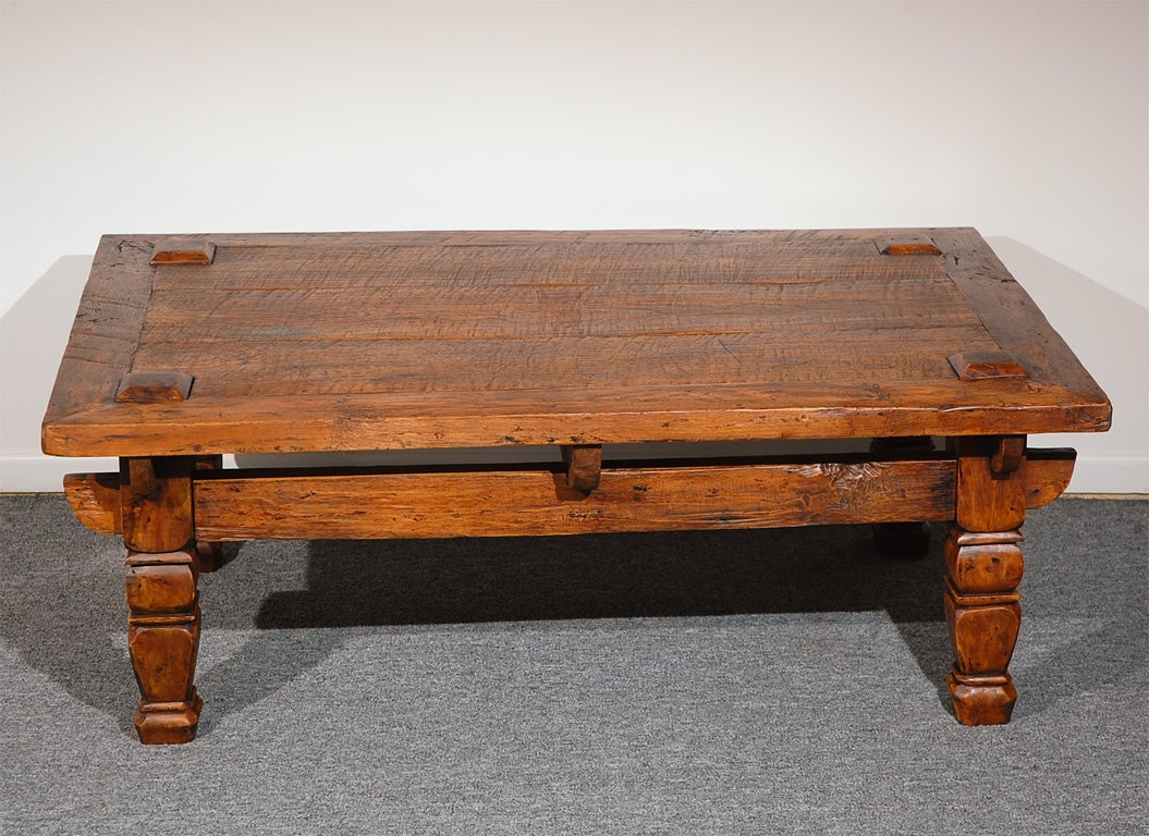 1920 1930 39 S Folky Handmade And Hand Carved Coffee Table At 1stdibs