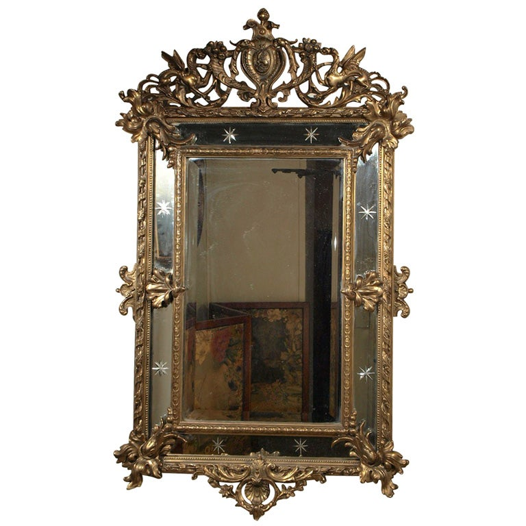 antique mirror bear glass - 768×768